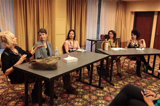 Burlesque as a Spiritual Practice Panel Discussion. ©Don Spiro